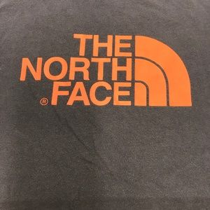 The North Face Dark Grey T-shirt Sz Large